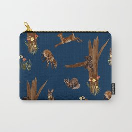 Woodland Creatures Carry-All Pouch