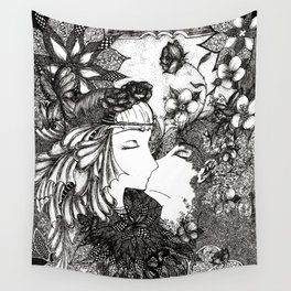 Nature's kiss Wall Tapestry