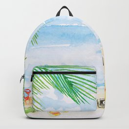 Beach Summer Backpack
