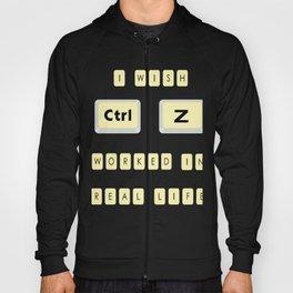 Computer Control Z Undo Redo Command Ctrl Z Funny Gift Hoody
