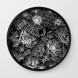 Flower Power 1.2 Wall Clock