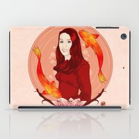 pisces iPad Cases featuring Pisces by Vanesa Abati