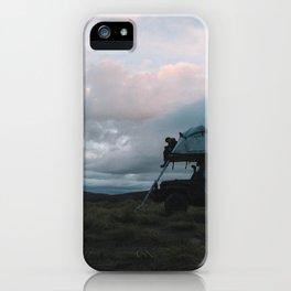 Mountain Camp, NZ iPhone Case