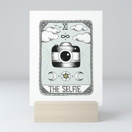 The Selfie Mini Art Print
