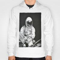 spaceman Hoodies featuring Spaceman by Bri Jacobs