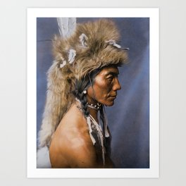Yellow Kidney - Piegan - Blackfoot American Indian Art Print
