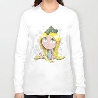 rapunzel Long Sleeve T-shirts featuring Rapunzel by EY Cartoons
