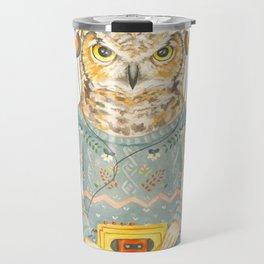 Feathers & Tunes Travel Mug