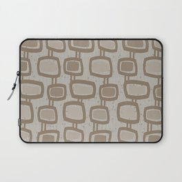 Dangling Rectangles in Brown Laptop Sleeve