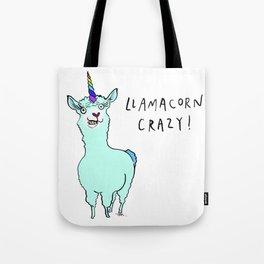 Llamacorn Crazy Tote Bag