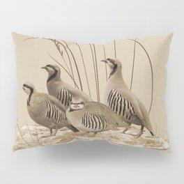 Chukar Partridges Pillow Sham
