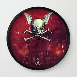 The Supernatural Pirate Wall Clock
