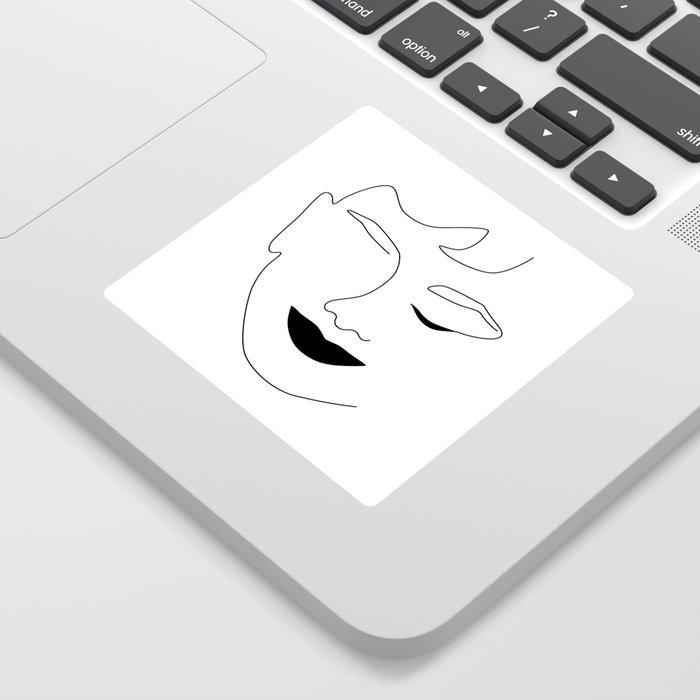Happy Audrey Sticker