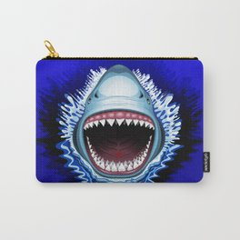 Shark Jaws Attack Carry-All Pouch