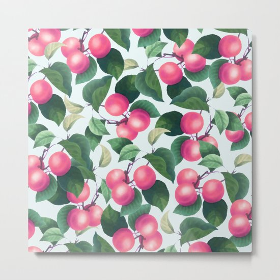 Tropical Fruit V2 #society6 #decor #buyart Metal Print