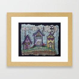 Lil' Village Framed Art Print