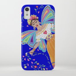 I have wings to fly iPhone Case