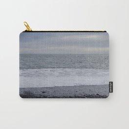 Iceland Calm Sea Black Beach - Vik Carry-All Pouch