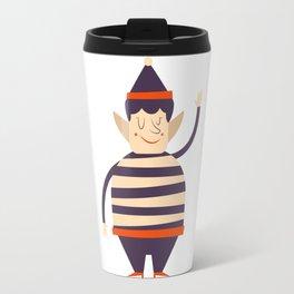 Santa's elf says HI Travel Mug