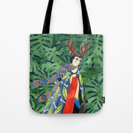 The troubled prince of the greenhouse Tote Bag