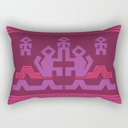 Peruvian Dragon Rectangular Pillow