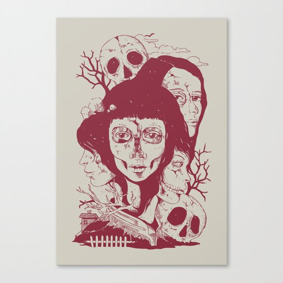 Life: A Tale of Tragedy, Rebirth, and Everything in Between Canvas Print