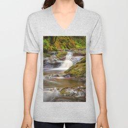 Glenariff Falls Unisex V-Neck
