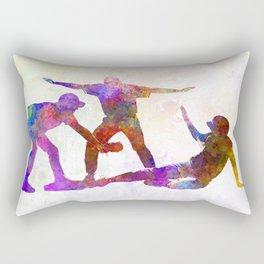baseball players 03 Rectangular Pillow