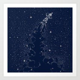 Star Inker Art Print