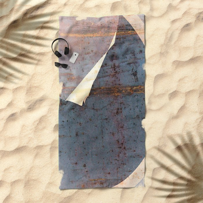 overlaps III Beach Towel
