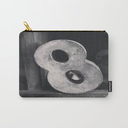 Number Crazy #8 Carry-All Pouch