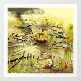 rubicon. Art Print