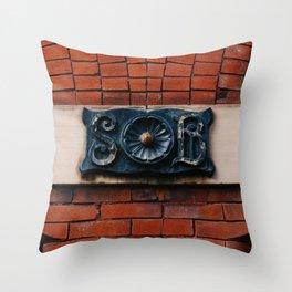 Alabama Architecture XXII Throw Pillow