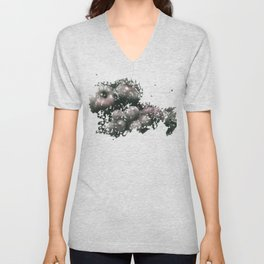 Apples & grapes Unisex V-Neck