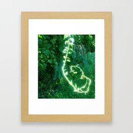 Magic Vine Framed Art Print