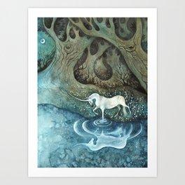 Le Reflet Art Print