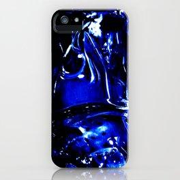 Liquid Cobalt Metal iPhone Case