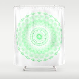 Snowflake #006 transparent Shower Curtain