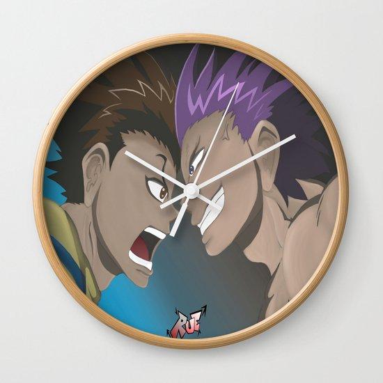 Kenichi vs Odin Wall Clock