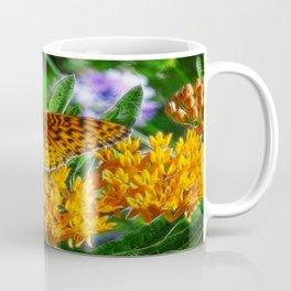 Little Flit in Fractalius Coffee Mug