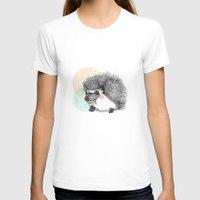 hedgehog T-shirts featuring Hedgehog by Wood + Ink