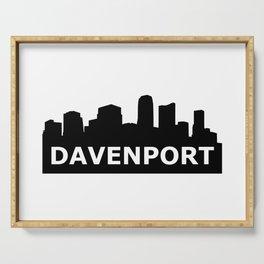 Davenport Skyline Serving Tray