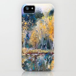 The Pond's Reflections iPhone Case