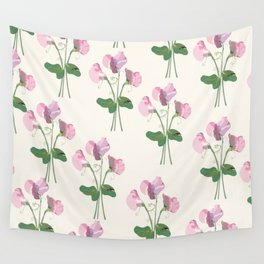 Sweet Peas Wall Tapestry