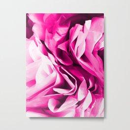 Posh Pink Peony Metal Print