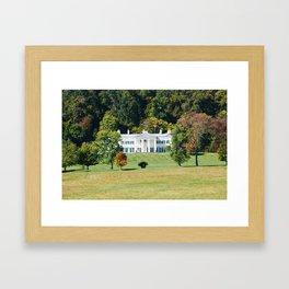 Morven Mansion Framed Art Print