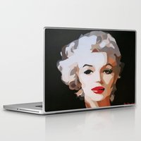 monroe Laptop & iPad Skins featuring Monroe by The Art Of Gem Starr