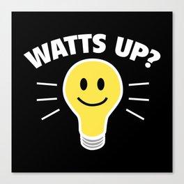Watts Up? Canvas Print