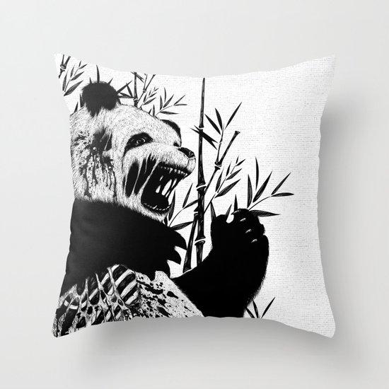 Panda Z Throw Pillow