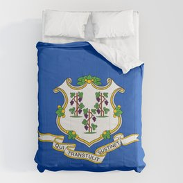 Connecticut State Flag Comforters